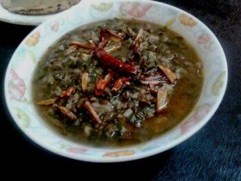 Bathua Urad Dal/ Sagpaita - Plattershare - Recipes, Food Stories And Food Enthusiasts