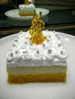 Christmas Recipe - Boondi Phirni Cheese Cake - Plattershare - Recipes, Food Stories And Food Enthusiasts