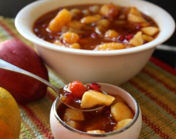 Sweet Mixed Fruit Pachadi (A South Indian Delicious Mixed Fruit Accompaniment) - Plattershare - Recipes, Food Stories And Food Enthusiasts