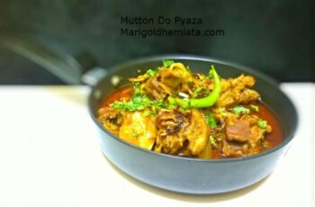 Mutton Do Pyaza / Gost Do Pyaza - Plattershare - Recipes, Food Stories And Food Enthusiasts
