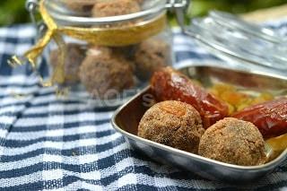 Amaranth Anjeer Khajoor Ke Laddoo - Plattershare - Recipes, Food Stories And Food Enthusiasts