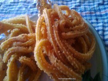 Muthusaram(Mullu Murukku) - Crispy Spirals Of Deep Fried Rice And Lentil Flour Dough! - Plattershare - Recipes, Food Stories And Food Enthusiasts