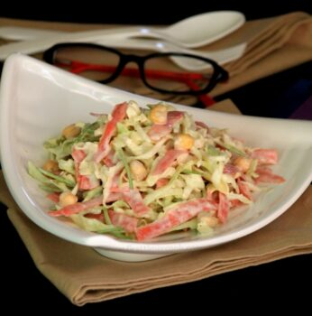 Chickpea Slaw - Weight Loss - Plattershare - Recipes, Food Stories And Food Enthusiasts