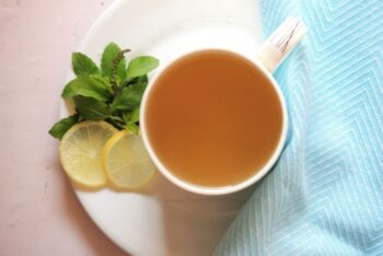 Ginger-Holy Basil Tisane | Adrak Tulsi Chai - Plattershare - Recipes, Food Stories And Food Enthusiasts