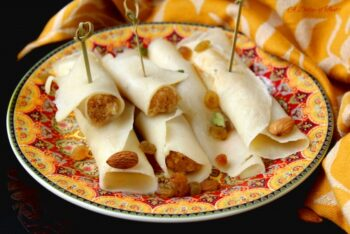 Patishapta Pitha (Bengali Style Rice Flour Crepes) - Plattershare - Recipes, Food Stories And Food Enthusiasts