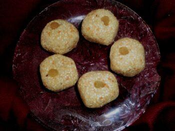 Til Mava Laddo/ Sesame Seeds Laddo - Plattershare - Recipes, Food Stories And Food Enthusiasts