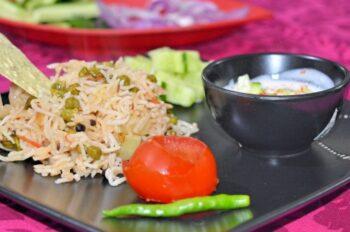 Choliya Rice (Green Chana Rice) - Plattershare - Recipes, Food Stories And Food Enthusiasts