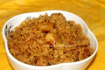 Baby Potato Biryani - Plattershare - Recipes, Food Stories And Food Enthusiasts
