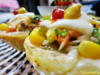 Grilled Stuffed Potatoes - Plattershare - Recipes, Food Stories And Food Enthusiasts