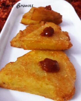 Hash Browns Potatoes - Plattershare - Recipes, Food Stories And Food Enthusiasts