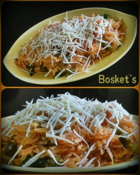 Farali Cheesy Grated Potatoes - Plattershare - Recipes, Food Stories And Food Enthusiasts