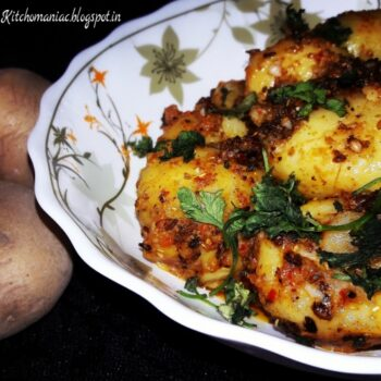 Curd Fry Potatoes - Plattershare - Recipes, Food Stories And Food Enthusiasts