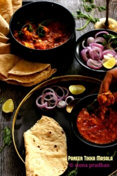 Paneer Tikka Masala - Plattershare - Recipes, Food Stories And Food Enthusiasts