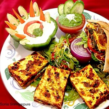 Grilled Minty Paneer - Plattershare - Recipes, Food Stories And Food Enthusiasts