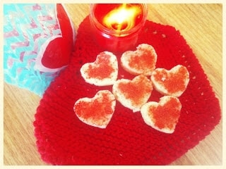Valentine Coconut Block - Plattershare - Recipes, Food Stories And Food Enthusiasts