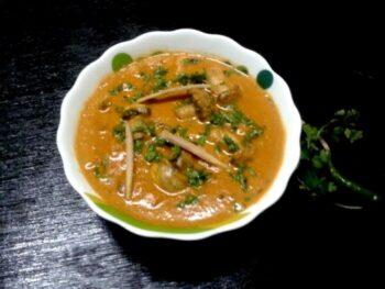 Mughlai Mushroom Curry - Plattershare - Recipes, Food Stories And Food Enthusiasts