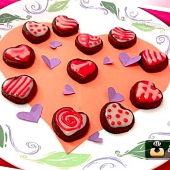 Chocolate Valentine Cookies - Plattershare - Recipes, Food Stories And Food Enthusiasts