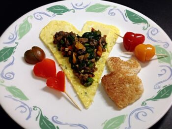 Loaded Veggie Omlette - Plattershare - Recipes, Food Stories And Food Enthusiasts