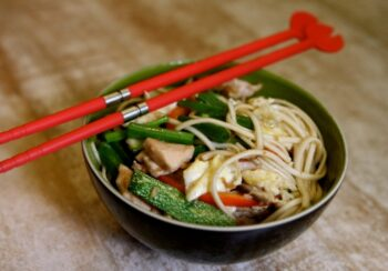 Teriyaki Chicken And Veggie Noodles By Celebrity Chef Rakhee Vaswani - Plattershare - Recipes, Food Stories And Food Enthusiasts