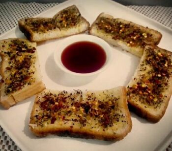 Garlic Bread On Tawa - Plattershare - Recipes, Food Stories And Food Enthusiasts