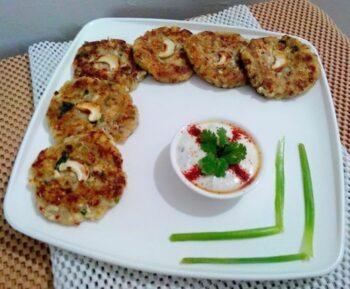 Paneer Aloo Tikkis - Plattershare - Recipes, Food Stories And Food Enthusiasts