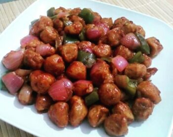Chilly Soyabean - Plattershare - Recipes, Food Stories And Food Enthusiasts
