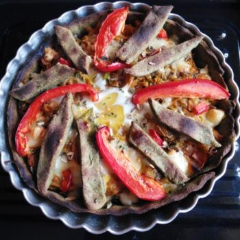 Tart With Egg - Plattershare - Recipes, Food Stories And Food Enthusiasts