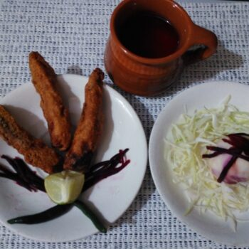 Baby Corn Fingers With Egg - Plattershare - Recipes, Food Stories And Food Enthusiasts