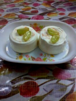 Panna Cotta With Orrange Rind - Plattershare - Recipes, Food Stories And Food Enthusiasts