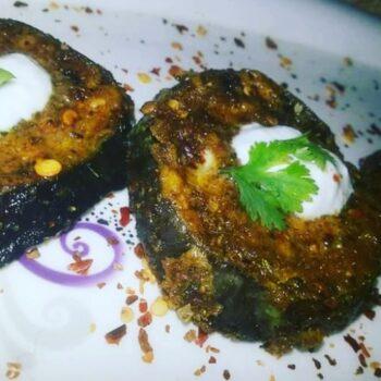 Sadabahar Baigan Eggplant - Plattershare - Recipes, Food Stories And Food Enthusiasts