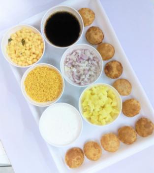 Dahi Batata Puri - Plattershare - Recipes, Food Stories And Food Enthusiasts