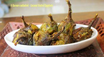 Coconut Stuffed Eggplant - Plattershare - Recipes, Food Stories And Food Enthusiasts
