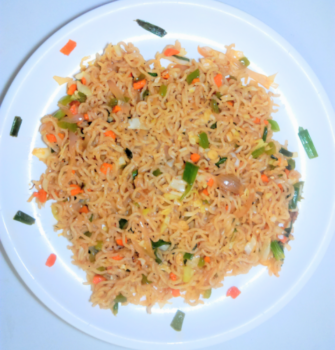 Whole Wheat Hakka Noodles - Plattershare - Recipes, Food Stories And Food Enthusiasts