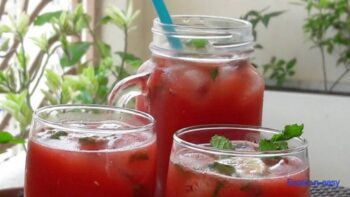 Watermelon Coconut Mocktail - Plattershare - Recipes, Food Stories And Food Enthusiasts