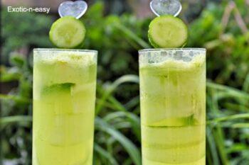 Cucumber Lemonade - Plattershare - Recipes, Food Stories And Food Enthusiasts