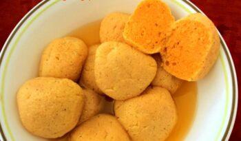 Komala Bhog( Orange Flavored Rosogolla) - Plattershare - Recipes, Food Stories And Food Enthusiasts