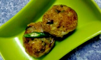 Tikki With Leftover Rice And Leftover Sweet Potato - Plattershare - Recipes, Food Stories And Food Enthusiasts