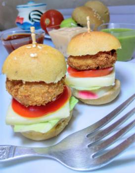 Mcdonalds Veg Burgers - Plattershare - Recipes, Food Stories And Food Enthusiasts