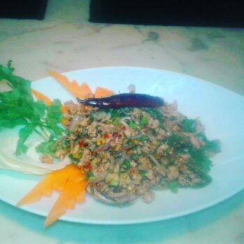 Larb Chicken Salad - Plattershare - Recipes, Food Stories And Food Enthusiasts