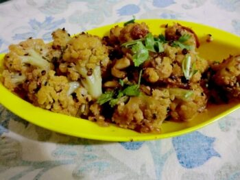 Khade Masale Ki Gobhi - Plattershare - Recipes, Food Stories And Food Enthusiasts
