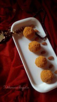 Rava Ladoos Holi Sweets - Plattershare - Recipes, Food Stories And Food Enthusiasts