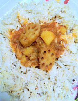 Lotus Stem Sabji - Plattershare - Recipes, Food Stories And Food Enthusiasts