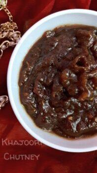 Khajoori Chutney Holi Special - Plattershare - Recipes, Food Stories And Food Enthusiasts