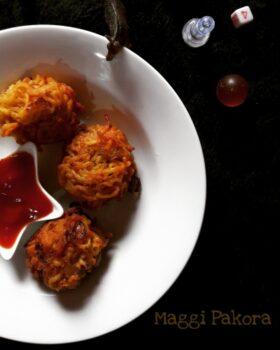Maggi Pakora(Kids Snacks) - Plattershare - Recipes, Food Stories And Food Enthusiasts