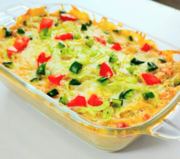 Baked Whole Wheat Noodles In A Cheesy Sauce And Assorted Vegetables - Plattershare - Recipes, Food Stories And Food Enthusiasts