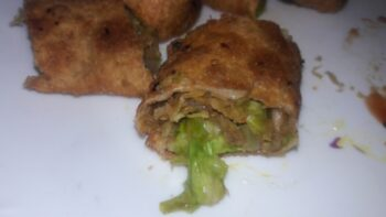 Wheat Spring Rolls Kids Snacks - Plattershare - Recipes, Food Stories And Food Enthusiasts