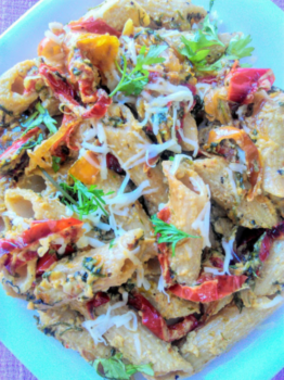 Pasta Pepper Salad - Plattershare - Recipes, Food Stories And Food Enthusiasts