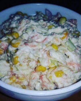 Mayo Mixed Veg Salad - Plattershare - Recipes, Food Stories And Food Enthusiasts