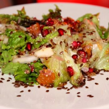 Flax Seed Fruity Salad - Plattershare - Recipes, Food Stories And Food Enthusiasts