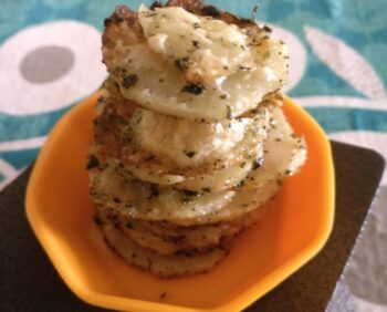 Baked Potato Chips - Plattershare - Recipes, Food Stories And Food Enthusiasts